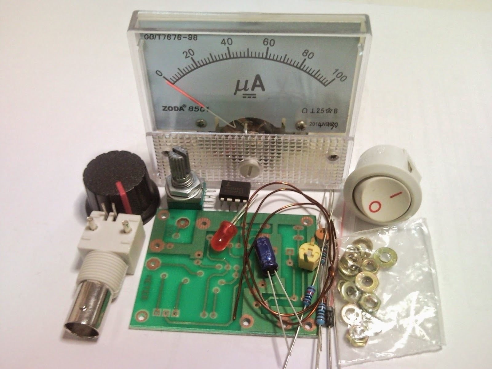 Field Strength Meter Kit : Building a field strength meter adventures in amateur radio