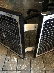 Hinged Solar Panels | Adventures in Amateur Radio