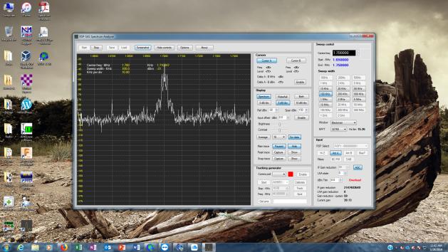 SDRPlay Spectrum Analyzer Software | Adventures in Amateur Radio